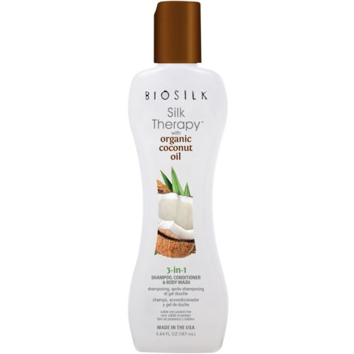 Biosilk Shampoing 3 en 1 Coco  Silk Therapy 167ml